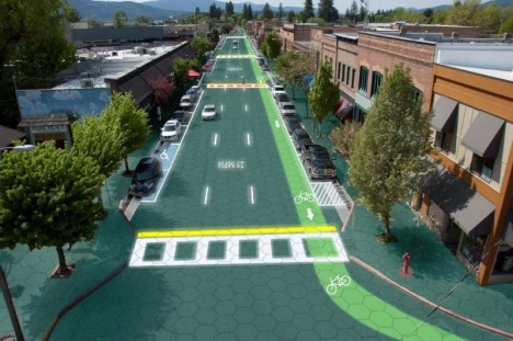 Street Smart: Solar Roadway Lights Up & Feeds Energy Grid by Chic Decorations