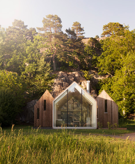 Reiulf Ramstad Creates 3 Glass-fronted Cabins As Norwegian Holiday Residence by Beauty and Hairstyle